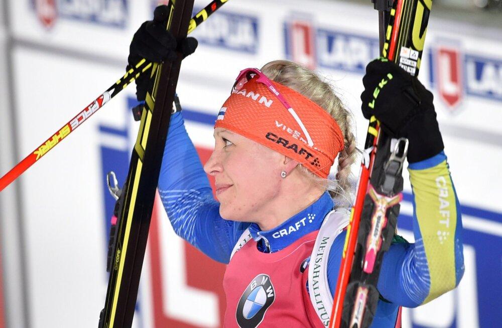 Mäkäräinen võitis individuaalsõidus pronksi, parim eestlanna alles 58.