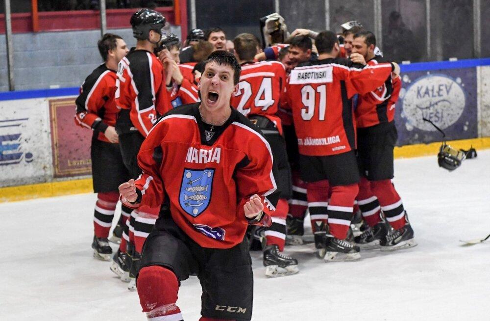 Narva PSK tuli teist aastat järjest Eesti meistriks