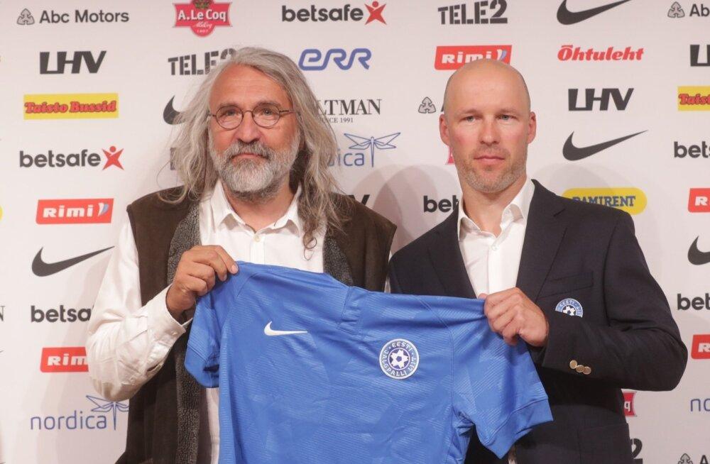 У сборной Эстонии по футболу появился новый главный тренер