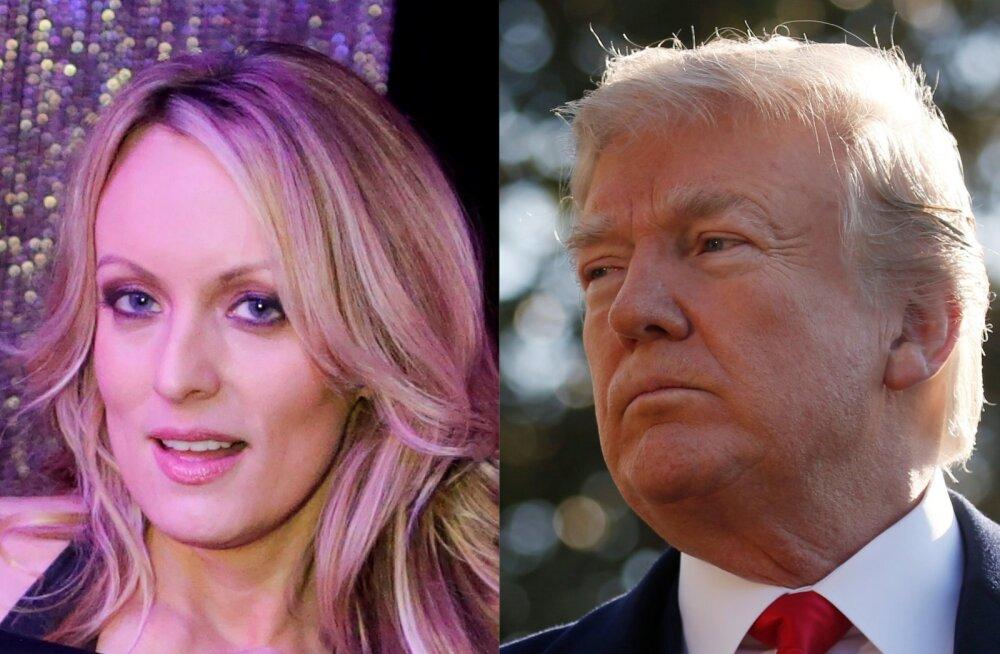 Donald Trumpi seksiskandaali kiskunud pornostaar Stormy Daniels: meievaheline seks oli tavaline, aga oskaksin ta varustust väga detailselt kirjeldada