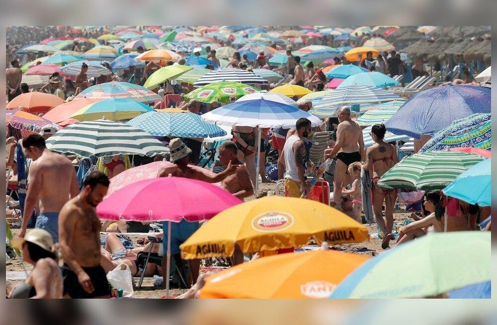 Tohutu kuumus nõudis Euroopas mitu inimelu