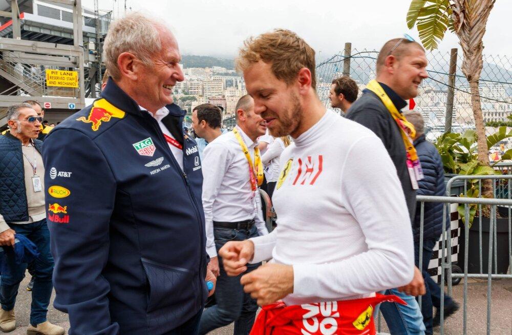Helmut Marko: Vettelil pole enam Ferraris tulevikku