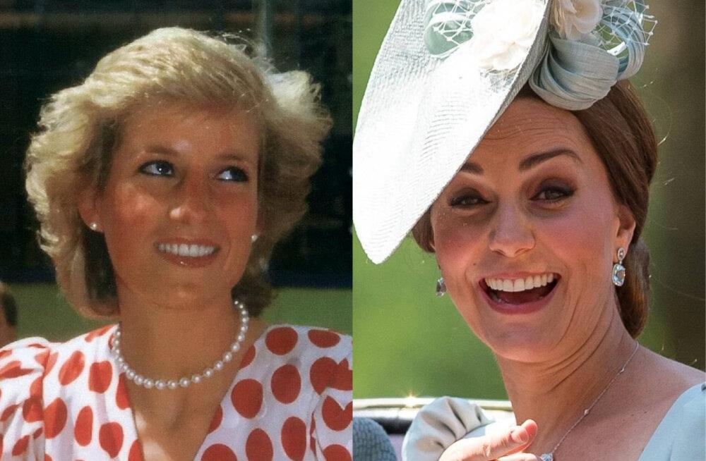 Üllatus! Kuninganna surma korral pälvib Catherine just selle imelise tiitli, millel on otsene seos printsess Dianaga