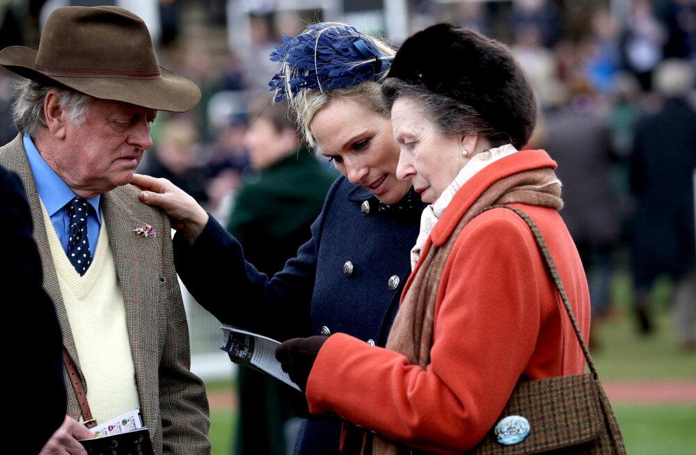 Järjekordne koroonahaige Briti kuningakojas: kas ohus on ka printsess Anne ja tema tütar?