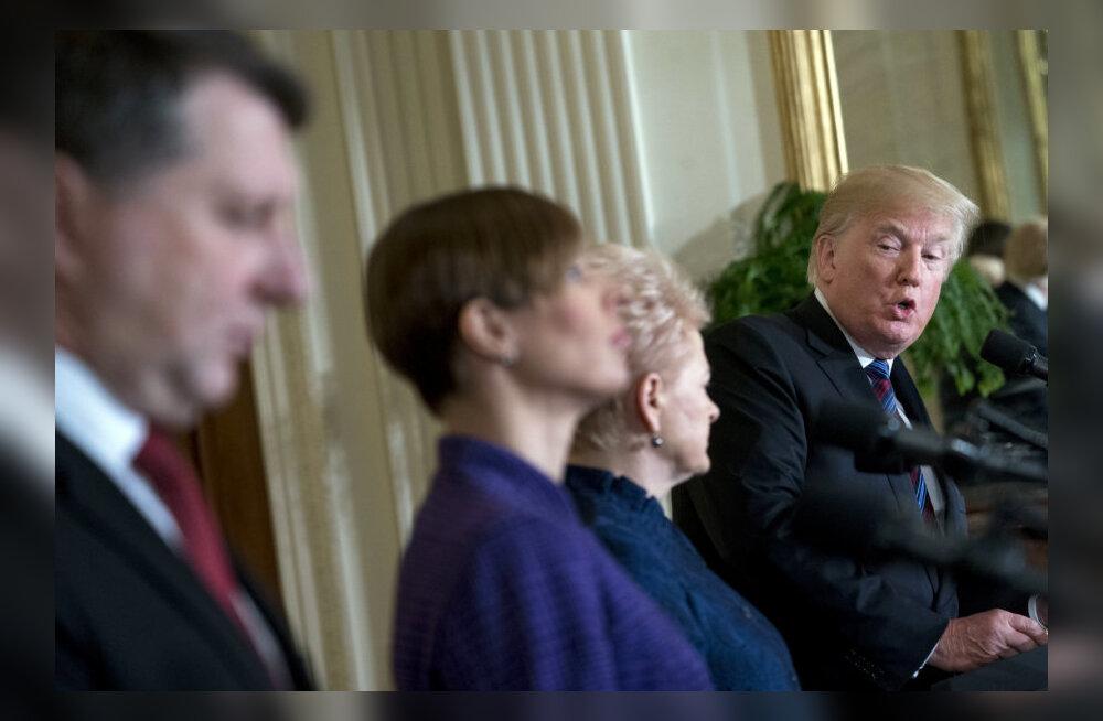 Газета: Трамп травмировал президентов стран Балтии, обвинив в начале войны в Югославии и призвав к хорошим отношениям с Россией