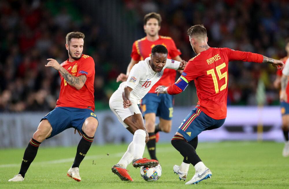 VIDEO   Uskumatu vana! Sergio Ramos astus meelega inglase jala peale, aga pääses karistuseta