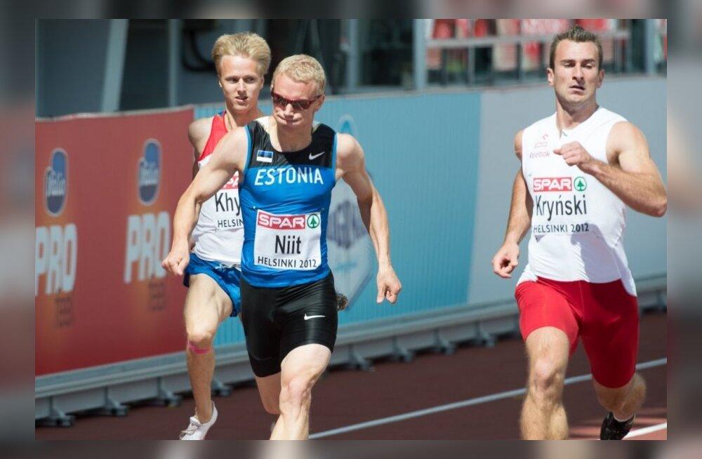 Marek Niit läbis hooaja esimesed 400 meetrit 47,3-ga