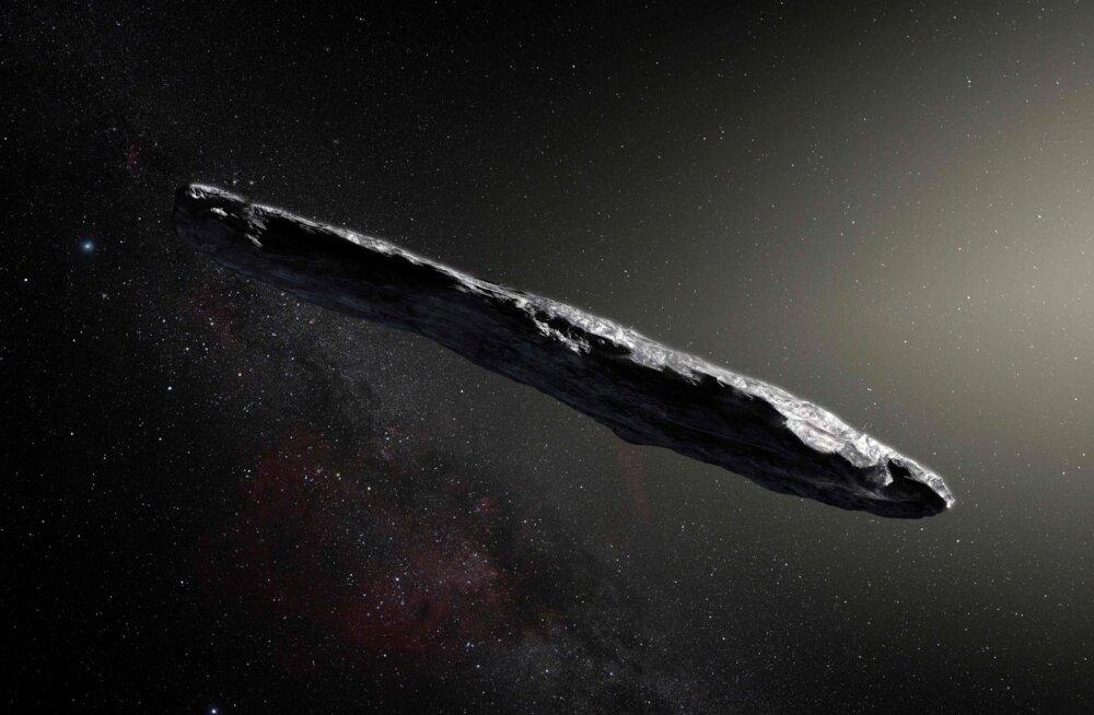 Oumuamua osutub aina veidramaks: nüüd arvatakse, et sel võib olla orgaaniline kest