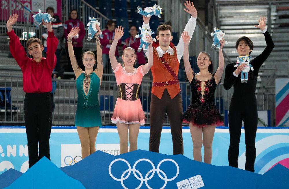 Arlet Levandi võitis noorteolümpial kuldmedali
