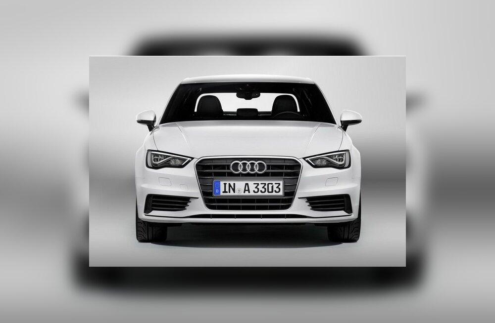 Audi esitles uut A3 sedaani