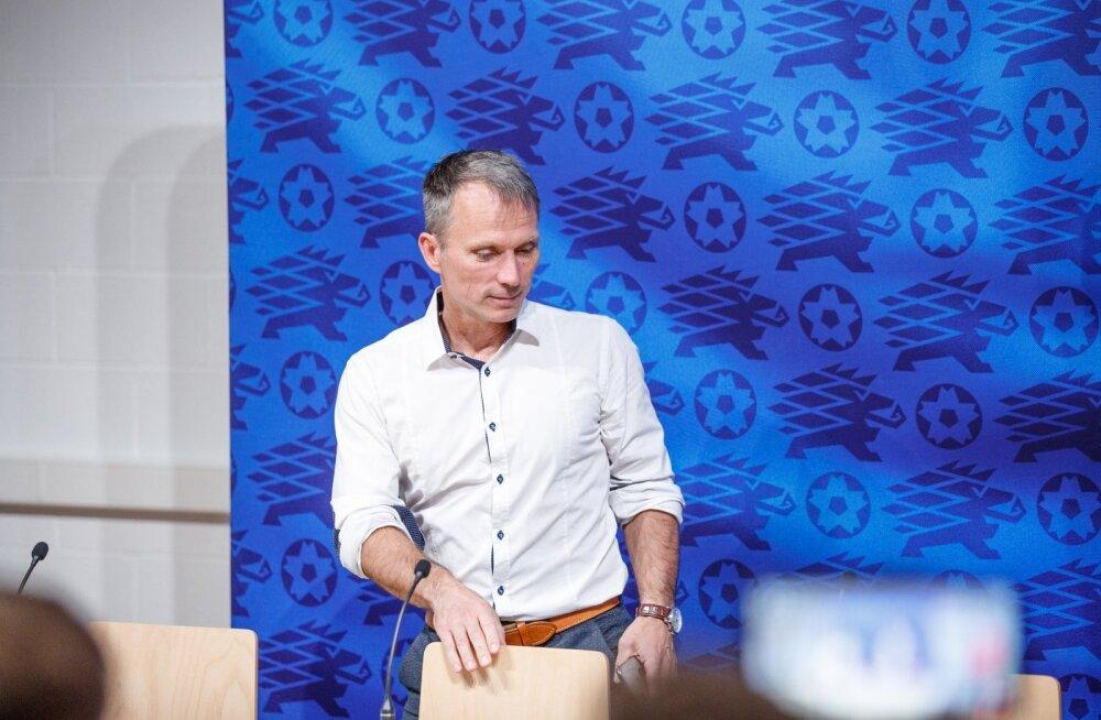 Martin Reim jättis Eesti jalgpallikoondise peatreeneritooli vabaks.