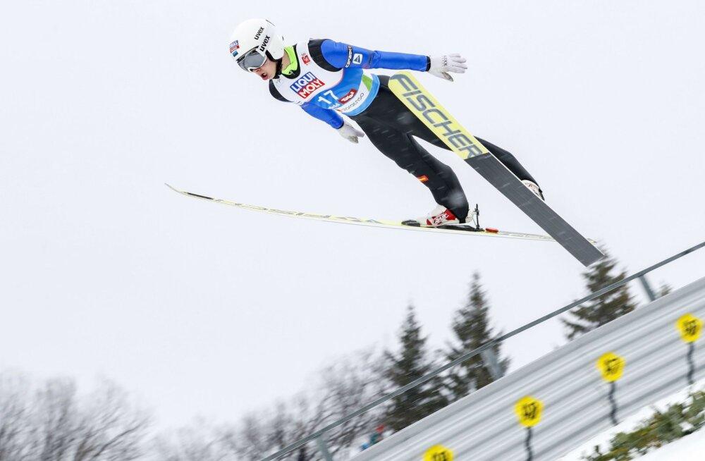 Aigro jäi Nelja hüppemäe turnee viimase etapi kvalifikatsioonis viimaste sekka