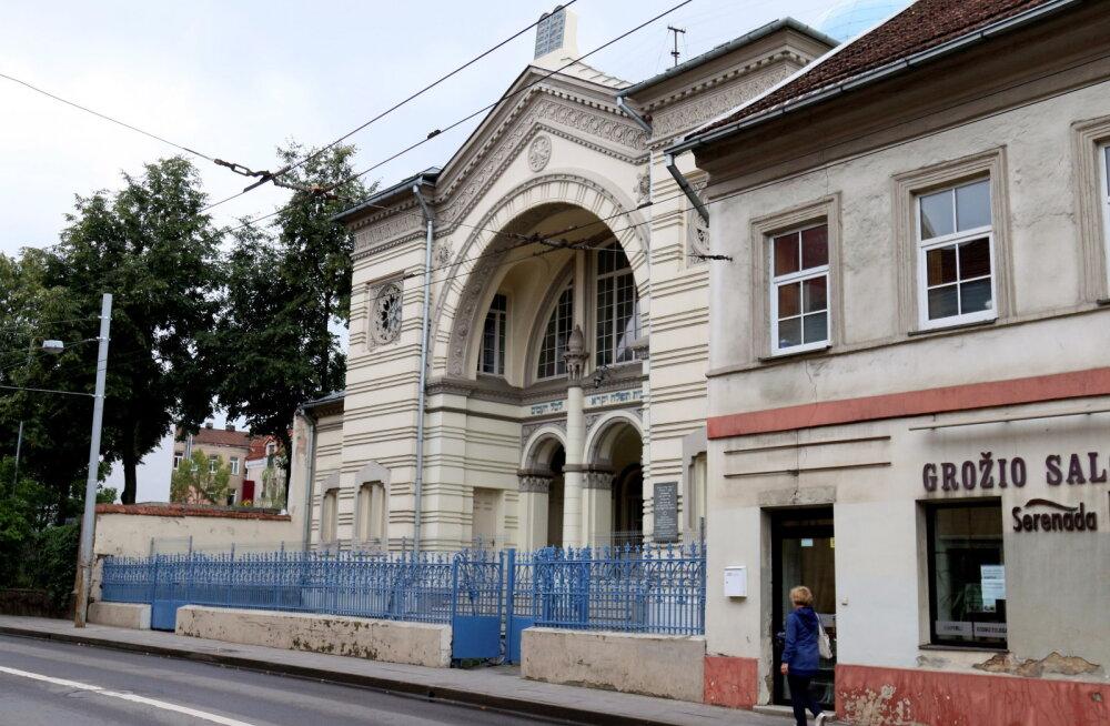 Leedu sünagoog avab ähvardustele vaatamata taas uksed