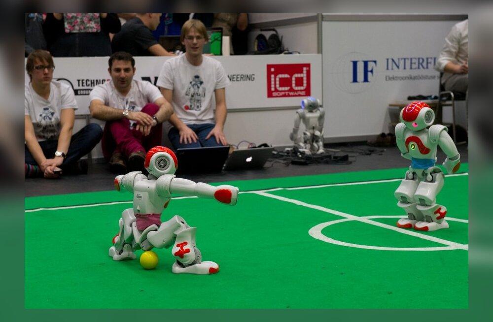 Robotex 2013.TTÜ Spordihoone