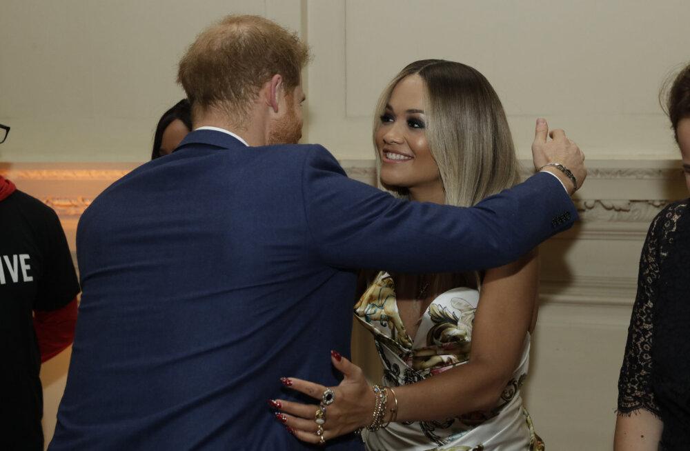 Rita Ora avaldas üllatusliku fakti oma endise silmarõõmu prints Harry kohta