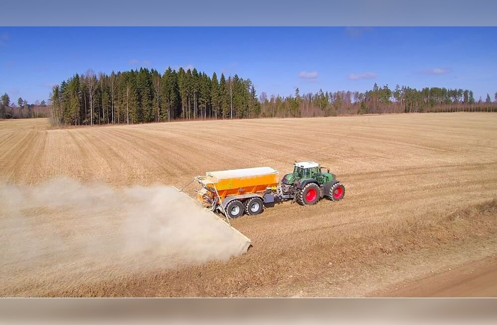 Испытания подтвердили положительное влияние сделанного из сланцевой золы удобрения Enefix на урожайность полей
