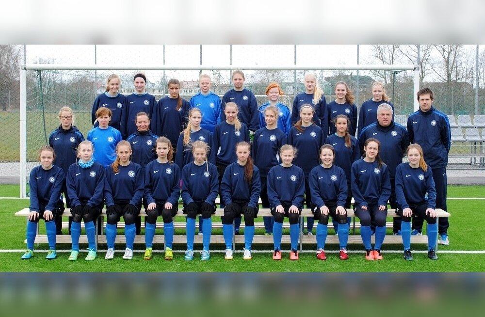 Tüdrukute U17 jalgpallikoondis