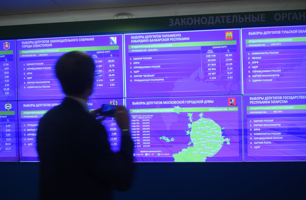 Kõik kubernerivalimised Venemaal võitsid senised kubernerid või kohusetäitjad