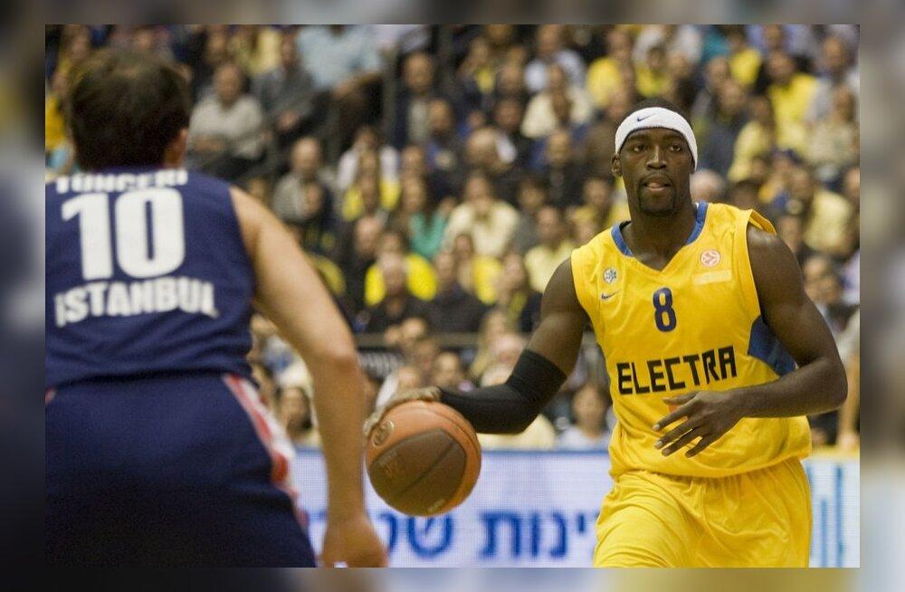 Doron Perkins Euroliigas Tel Avivi Maccabi mängijana, korvpall