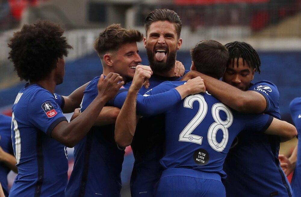 VIDEO | Chelsea jõudis karikafinaali, De Gea tegi mitu prohmakat