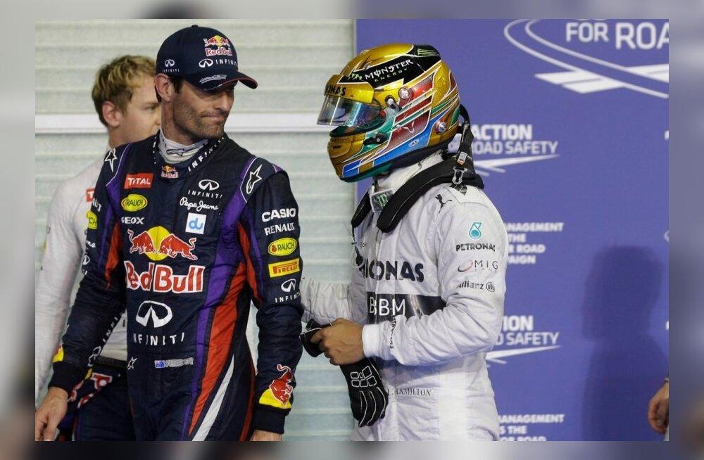Lewis Hamilton, Mark Webber
