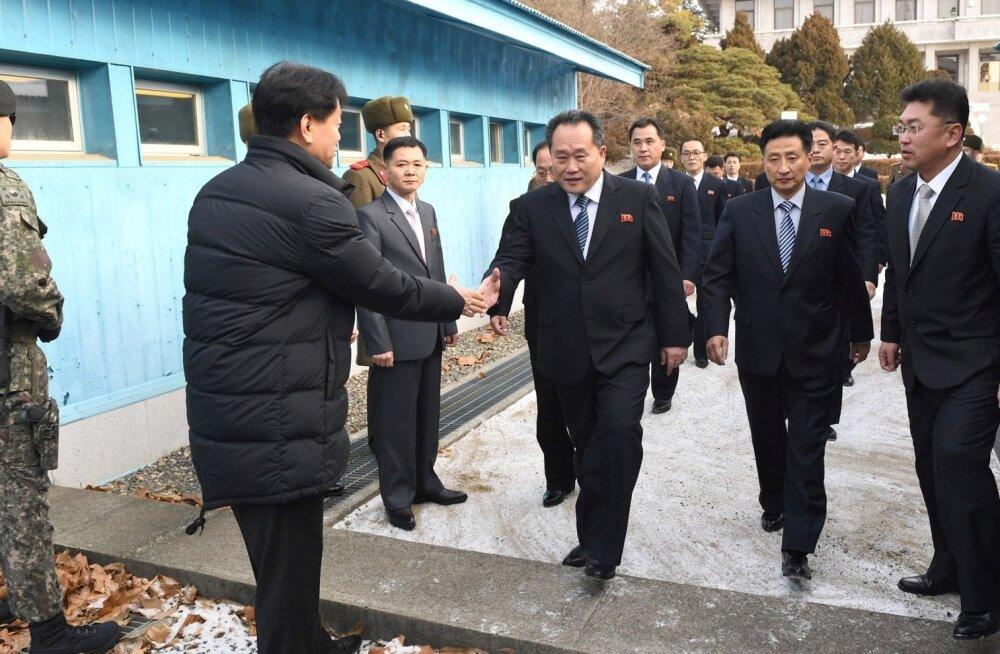 Põhja- ja Lõuna-Korea leppisid kokku sõjalise otseliini taasavamises