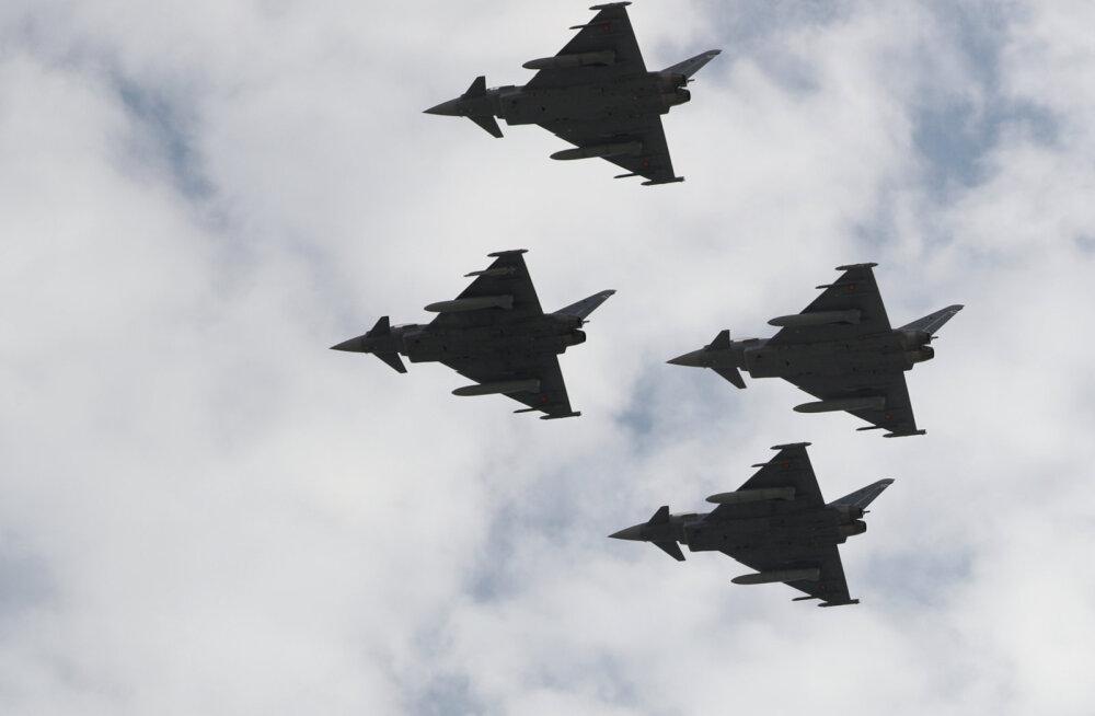 Eurofighter-hävitajad kipuvad viimasel ajal juba liiga tihti alla kukkuma, eriti Hispaanias