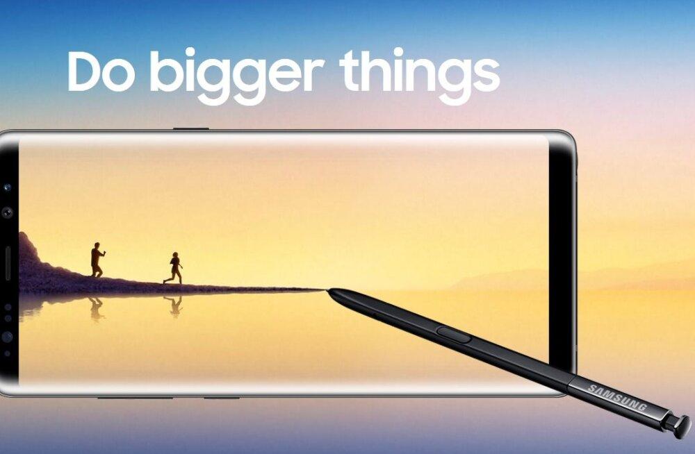 Elu 1000-eurose telefoniga: aasta Samsungi tipptelefoni Galaxy Note8 seltsis