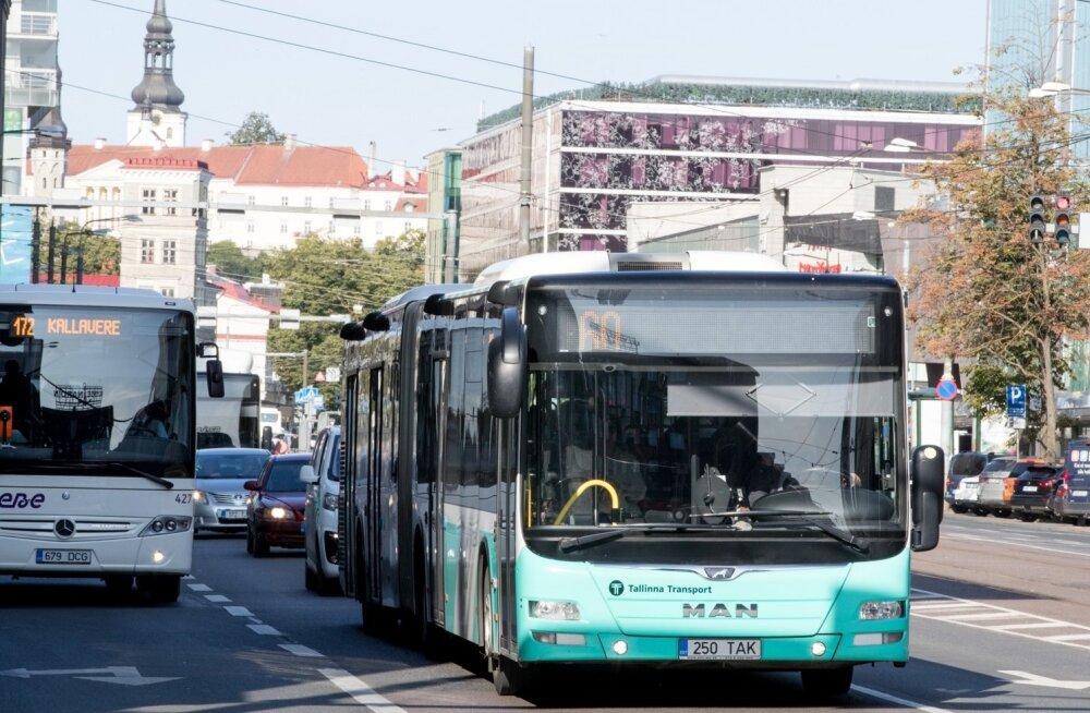 Tallinna busside liinitablood ei tööta