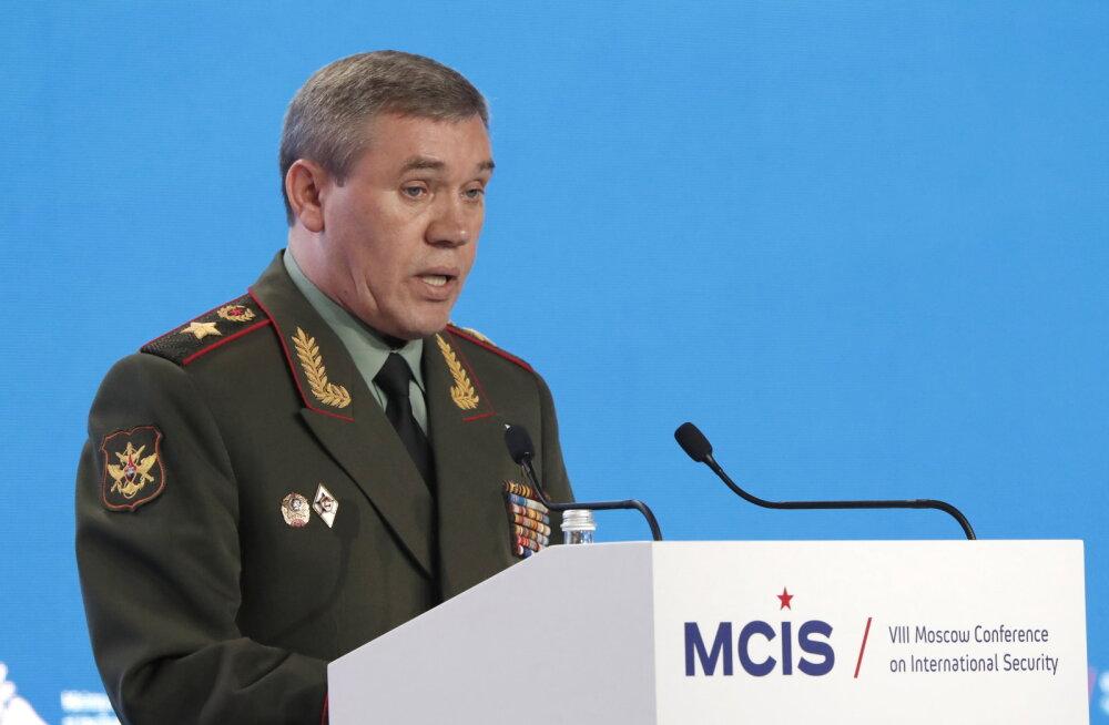 Kindralstaabi ülem: Venemaa tugevdab vastuseks NATO-le vägesid lääne ja lõuna sõjaväeringkonnas
