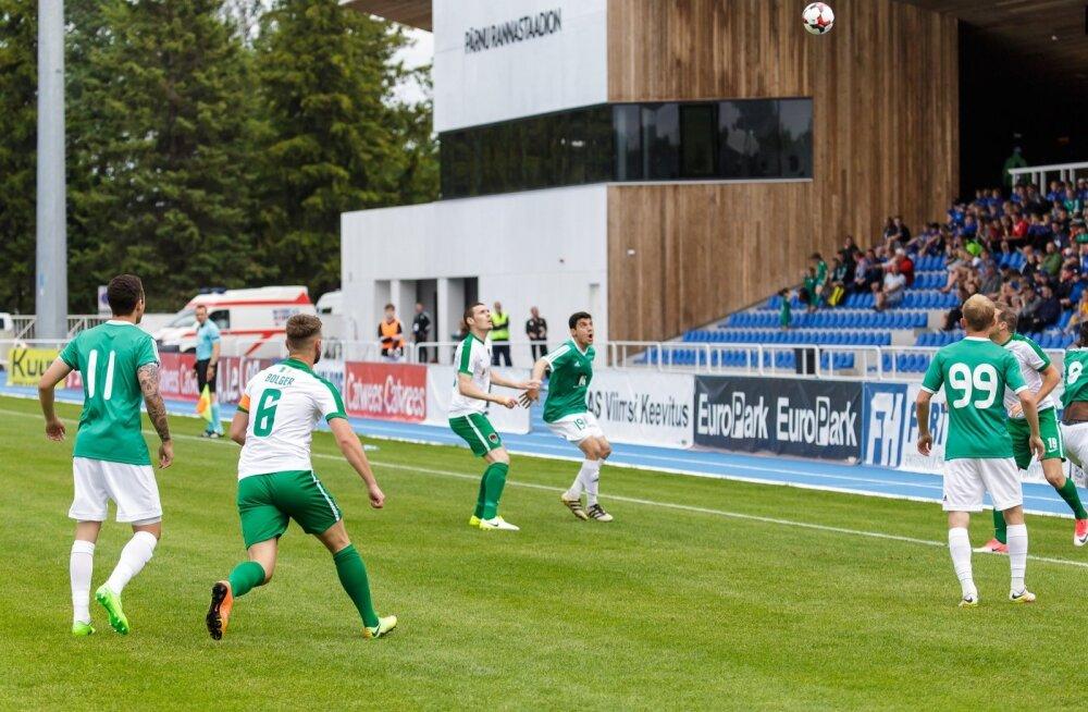 jalgpall Levadia Cork City