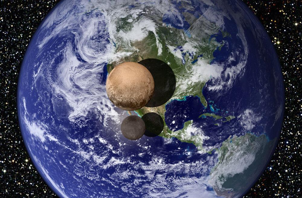 Võrdleme Maaga: kosmosesond mõõtis üle Pluuto ja selle suurima kuu läbimõõdu