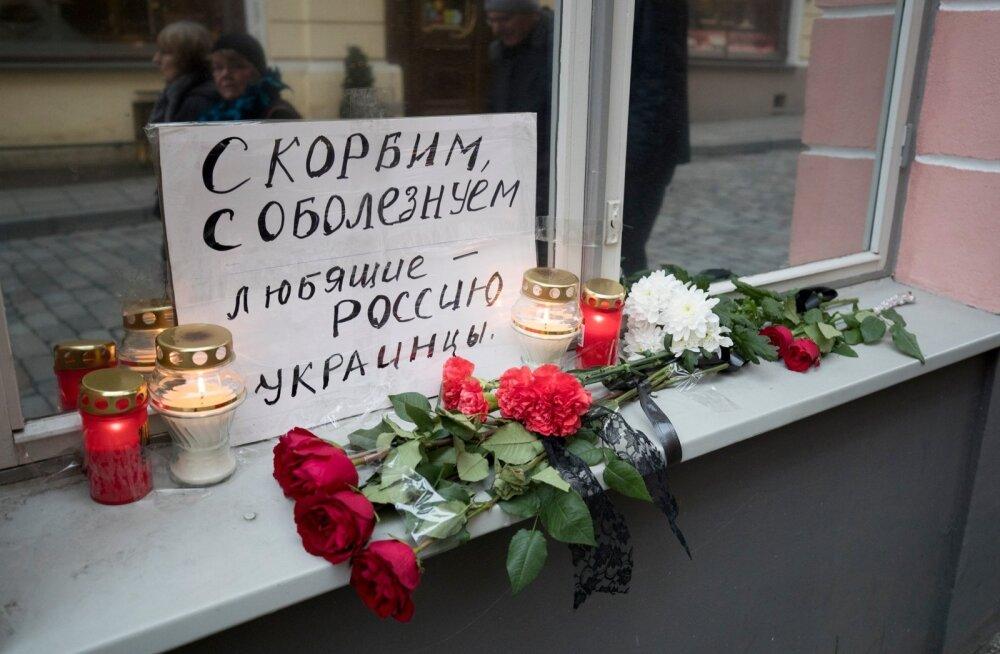 Lilled Vene saatkonna juures