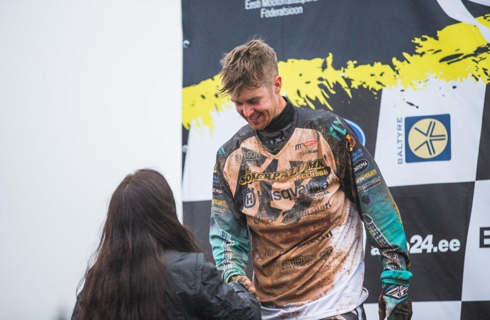 Eesti motokrossi meistrivõistlused Tartus Lange motokeskuses
