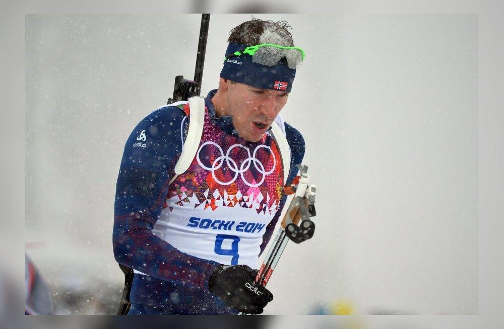 Emil Hegle Svendsen tuli kolmekordseks olümpiavõitjaks fotofinišiga