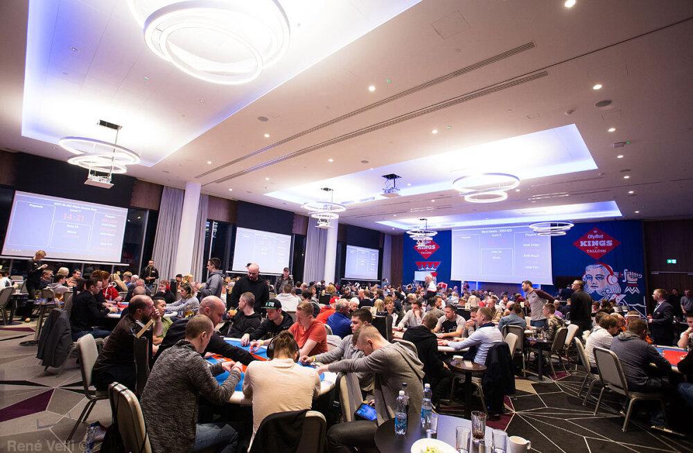 Täna algav festival meelitab Tallinnasse tuhat pokkerifanatti kogu maailmast