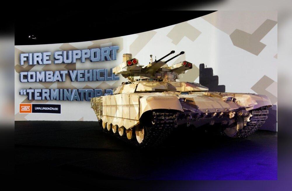 Vene maavägede relvastusest uuendatakse 2020. aastaks 70 protsenti