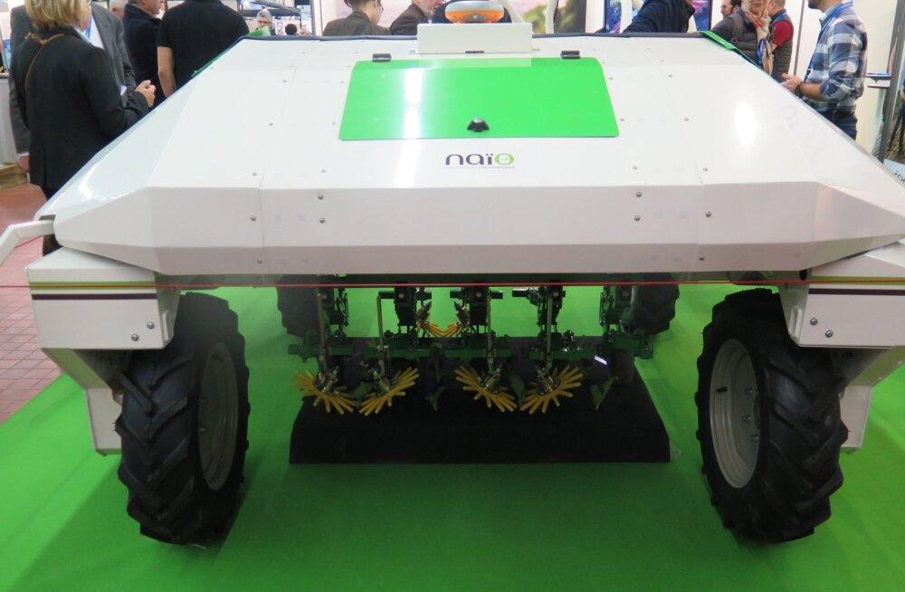 Enamikku taimekasvatusroboteist on siiani näha saanud vaid näitustel.