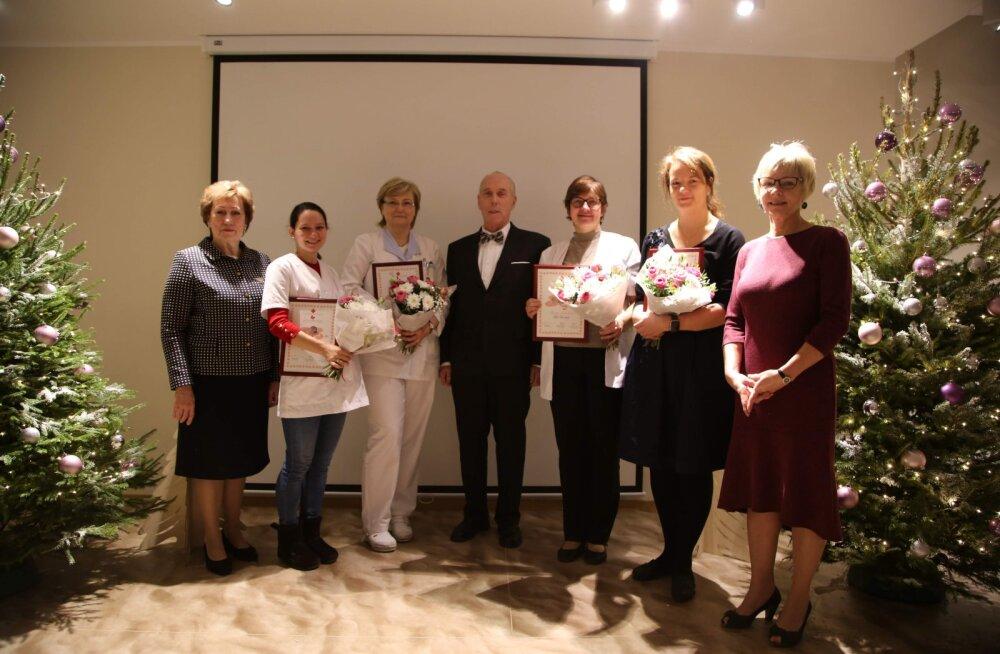 Tallinna Lastehaiglas tunnustati 2018. aasta parimaid arste ja õdesid
