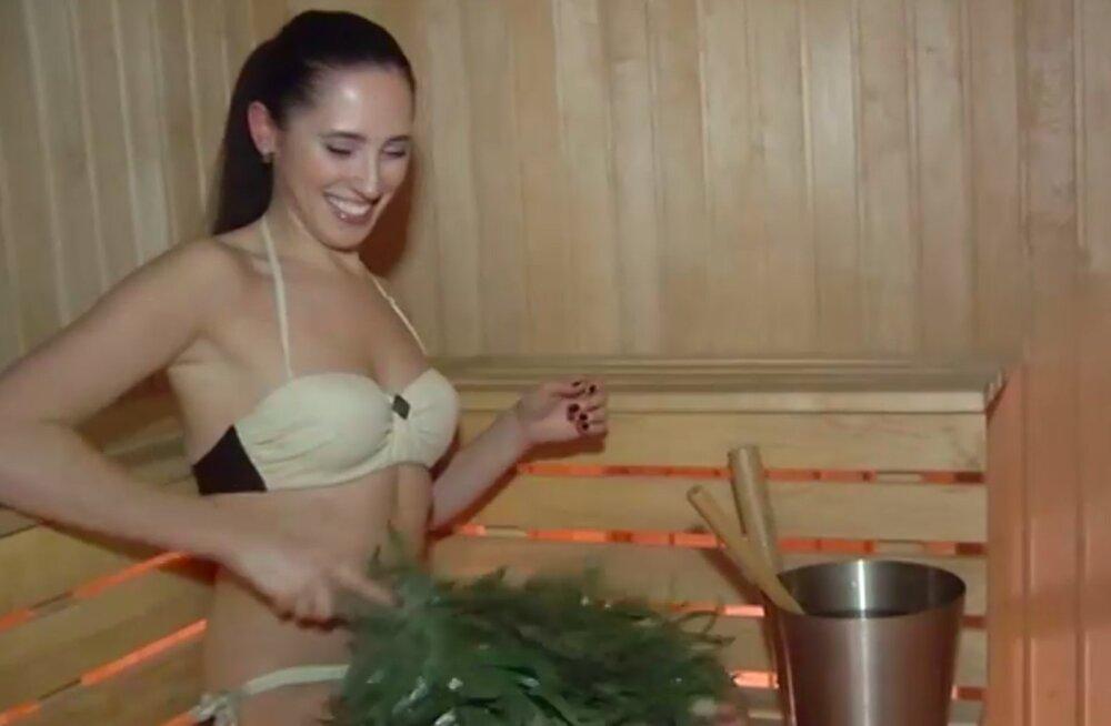 TV 3 VIDEO | Lõbusad kaadrid! Elina Nechayevaga saunast: järgmine päev olen kui uuesti sündinud!