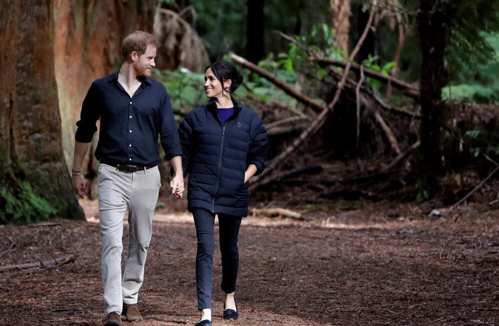KLÕPS | Prints Harry tegi beebiootel Meghanist eriti armsa foto