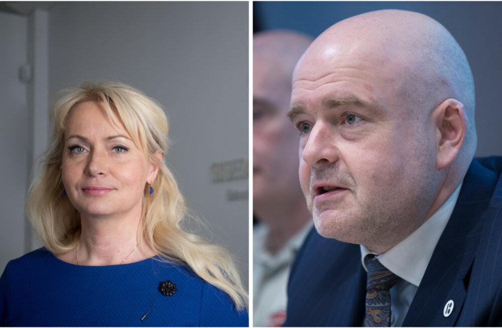 Riina Solman ja Andrus Anvelt
