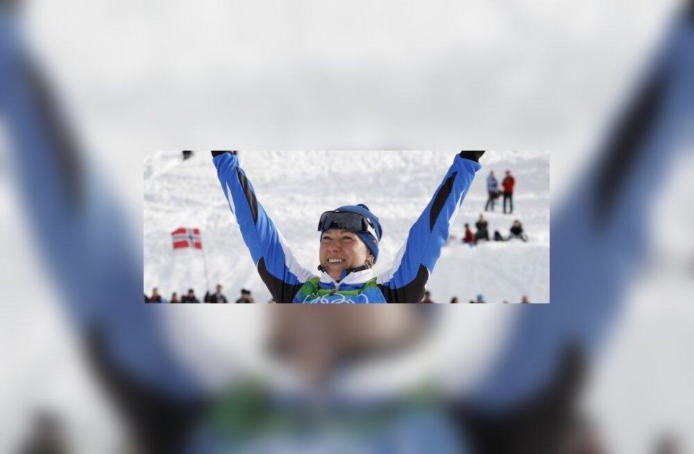 Olümpiahõbe Kristina Šmigun-Vähi