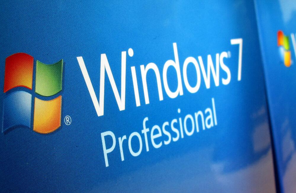 Windows 7 järgmise aasta algusest enam uuendusi ei saa