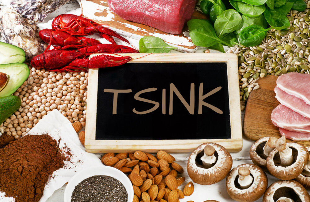Tsink ergutab immuunsüsteemi ja parandab meeste viljakust