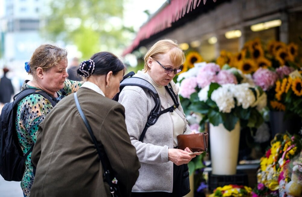 Viru tänava lillemüüjad