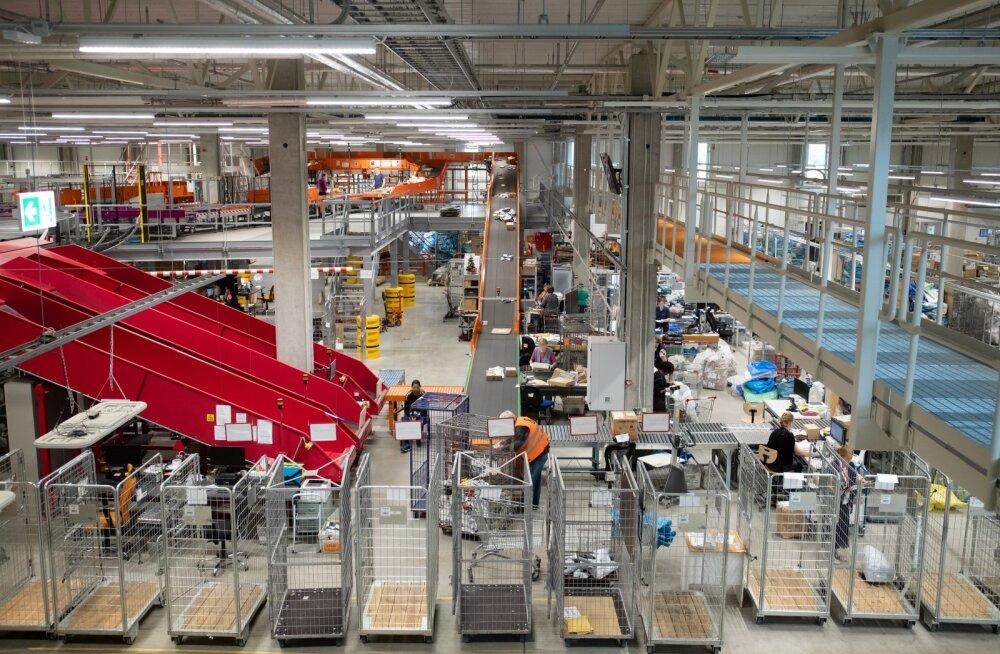 Omniva pakkide sorteerimiskeskus Jüris