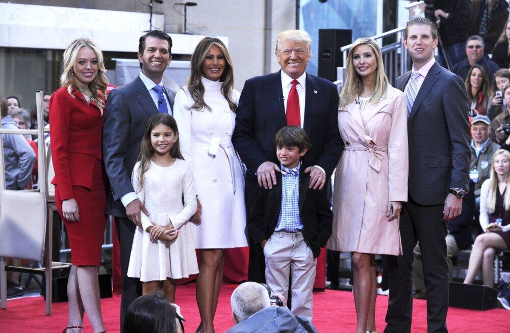 USA Vabariiklaste kongress kui perepidu: kõne peavad Melania Trump, Donald Trump juunior, Eric Trump, Tiffany Trump ja Lara Trump
