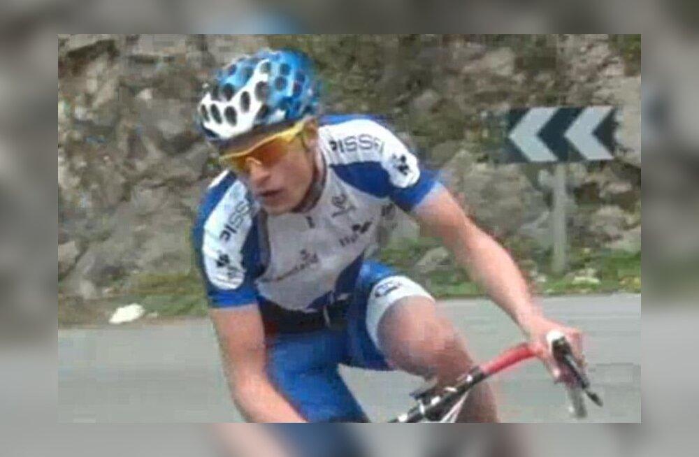 Ekke-Kaur Vosman (kaader videost), jalgratas