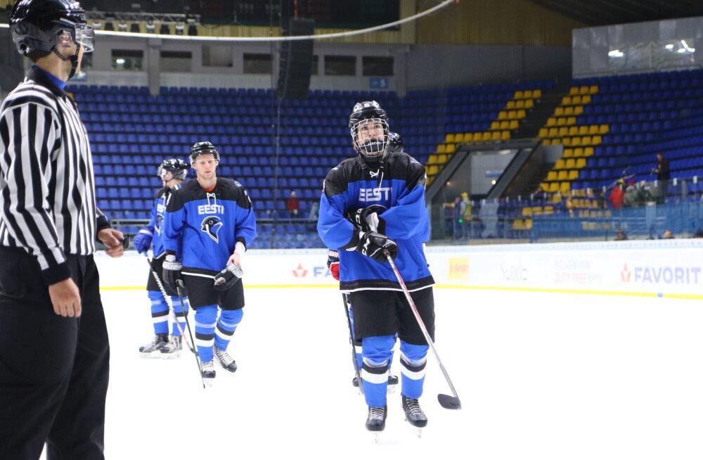 Eesti U20 jäähokikoondis pidi Ungari eakaaslaste paremust tunnistama